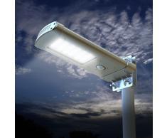 Lampadaire solaire réverbère à 24 lumières Led rue route