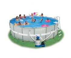 Intex 28332 piscine hors-sol ronde Ultra Frame 549x132
