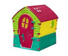 Maisonnette en plastique pour enfants jardin exterieurs DREAM HOUSE