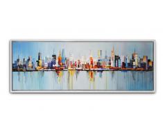 Tableau peinture à l'huile 150x50cm - Hougthon