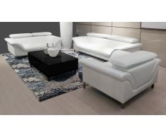 Salon cuir design canapé 3+2+1 collection -Tanaro