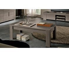 Table basse moderne en bois Olgano