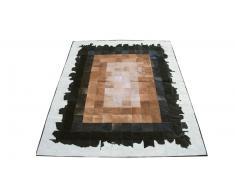 Carlotta - Tapis patchwork peau de vache