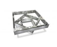 Table basse miroir et verre - Fizuli