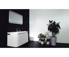 Meuble de salle de bain et miroir lumineux 120 cm Cacciari