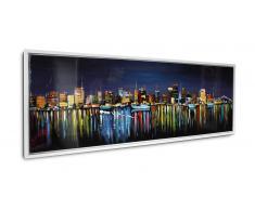 Tableau peinture à l'huile 150x50 cm finition glossy - Orhon