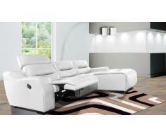 Canapé d'angle design de relaxation - Slik Solde