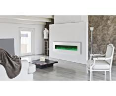 Cheminée électrique design 182 cm -Luxury Kamin 72 Blanca 5xl