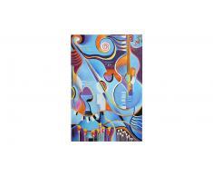 Muzic - Tableau 80x120 cm peinture à l'huile