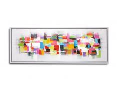 Tableau peinture à l'huile 120x40 cm - Nalay