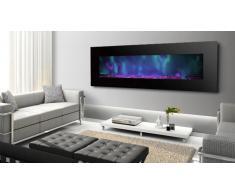 Cheminée électrique design 182 cm -Luxury Kamin 72 Negro 5xl