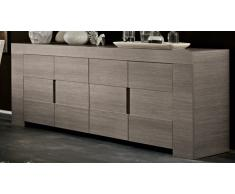 Bahut design en bois 4 portes Olgano