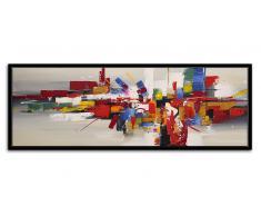 Tableau glossy peinture à l'huile 150x50 cm - Romny