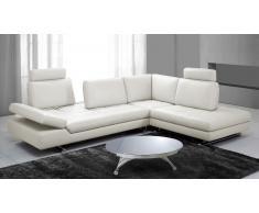 Canape d'angle relax moderne - Minho - avec dossier réglable