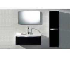 Meuble de salle de bain simple vasque 110 cm Calypso Solde
