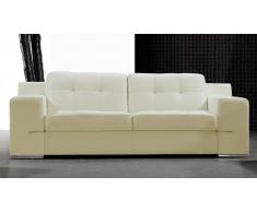 Canapé cuir 3 places - Cameron