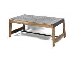 Table basse en bois et métal - Manchester