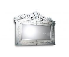 Miroir vénitien style baroque - Boreana