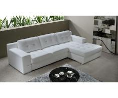 Canapé d'angle moderne cuir - Cameron