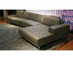 Canapé d'angle en cuir moderne - Life Style Solde