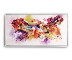Tableau peinture à l'huile 120x60 cm finition glossy - Darhan