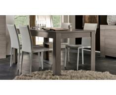 Table de salle à manger en bois rectangulaire Olgano 160 cm
