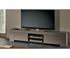 Meuble TV design en bois 190 cm Olgano