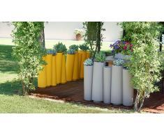 Cache-pot jardinière en polyéthylène - Bamboo