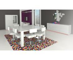 Table de salle à manger carrée extensible 140x140 cm - Veliki