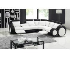 Canapé d'angle design relax en cuir - Pierce