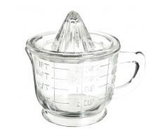 Presse agrume et bol mesureur en verre RETRO