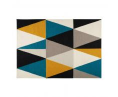 Tapis en laine motifs graphiques 160x230cm ARCHI