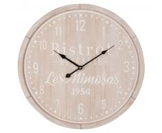 Horloge blanchie imprimée