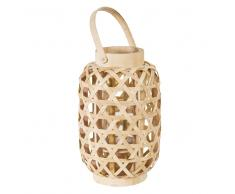 Lanterne tressée en bambou