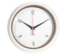 Horloge en métal blanche D 24 cm JESSIE