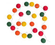 Guirlande en coton multicolore 24 led BOOP