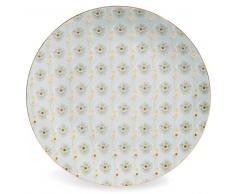Assiette plate en porcelaine D 27 cm ASUKO