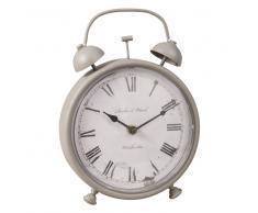 Horloge à poser grise