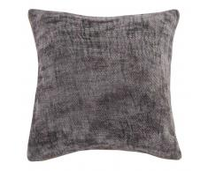 Coussin gris anthracite 50x50