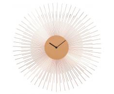 Horloge en métal cuivré D 45 cm COPPER PADOVA