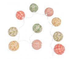 Guirlande lumineuse en papier coloré CHEZINE