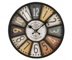 Horloge indus multicolore