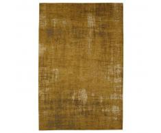 Tapis en coton jaune moutarde 155 x 230 cm FEEL