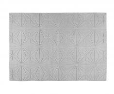 Tapis en laine gris 160x230cm ETOLI