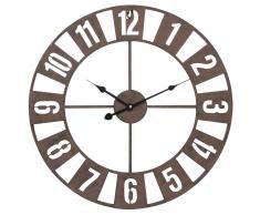 Horloge en métal D 50 cm PEILLON