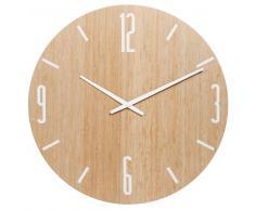 Horloge en bambou D 55 cm SHIROITAKE