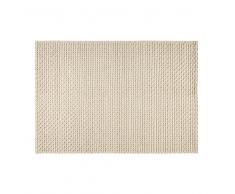 Tapis en laine et coton écru 160x230cm MOJAVE