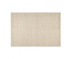 Tapis en laine et coton écru 140x200cm MOJAVE