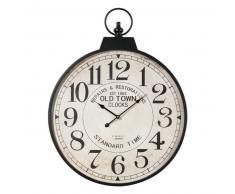 Horloge Gousset en métal D 60 cm VINTAGE
