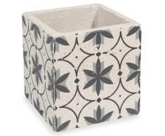 Cache-pot en ciment H 14 cm FLOWER SLOW